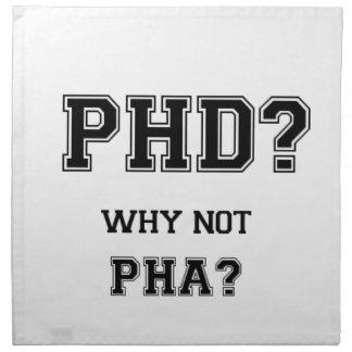 Serviettes En Tissus PhD ? Pourquoi pas PhA ? Cadeau d'obtention du