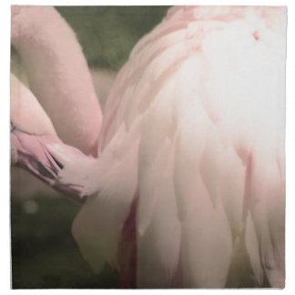 Serviettes En Tissus plumes de flamant