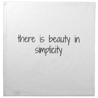 Serviettes En Tissus Simplicité