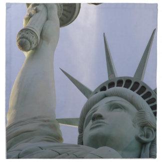 Serviettes En Tissus Statue de la liberté des Etats-Unis de liberté de