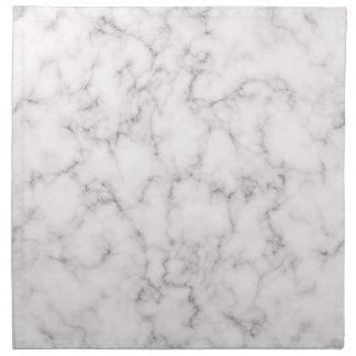 Serviettes En Tissus Style de marbre élégant