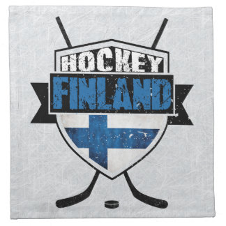 Serviettes finlandaises de Suomi de bouclier de