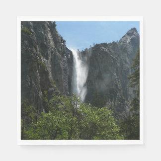 Serviettes Jetables Bridalveil tombe au parc national de Yosemite