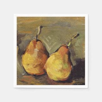 Serviettes Jetables Cezanne - deux poires