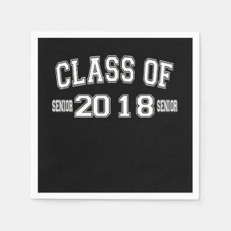 Serviettes Jetables Classe des serviettes 2018 de papier de cocktail