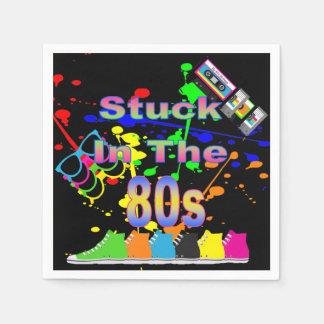 Serviettes Jetables Collé pendant les années 80