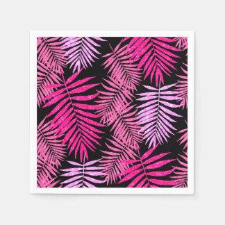 Serviettes Jetables Feuille de l'adolescence de palmier de