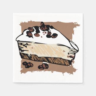 Serviettes Jetables Gâteau au café