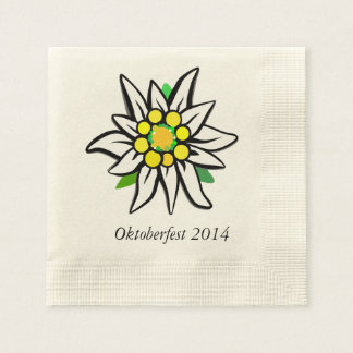 Serviettes Jetables Octoberfest Reduced Minimalist Tissue