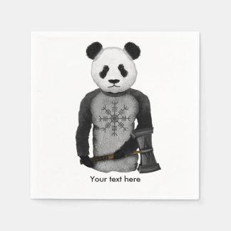Serviettes Jetables Ours panda Viking