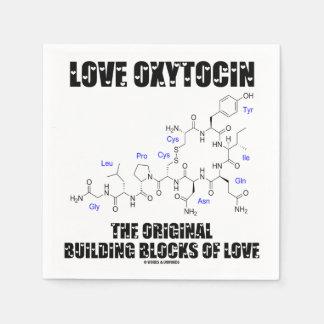 Serviettes Jetables Oxytocine d'amour les blocs constitutifs originaux