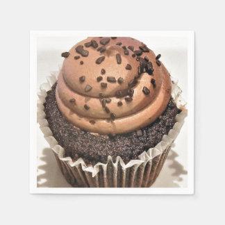 Serviettes Jetables Petit gâteau de chocolat