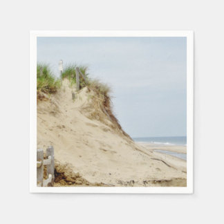 Serviettes Jetables Photo de plage