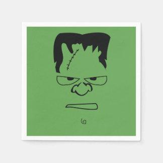 Serviettes Jetables Serviettes de Frankenstein