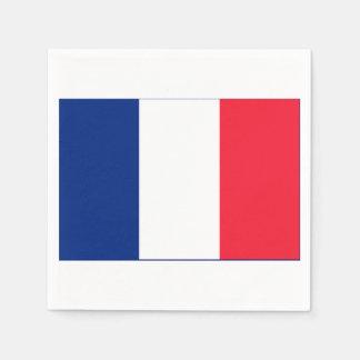 Serviettes Jetables Serviettes de papier de partie de la France
