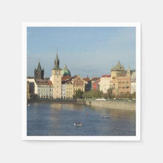 Serviettes Jetables Serviettes de papier de Prague