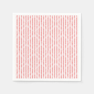 Serviettes Jetables Serviettes de papier faites sur commande roses