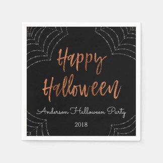 Serviettes Jetables Serviettes modernes de Halloween de partie