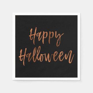Serviettes Jetables Serviettes modernes heureuses de Halloween