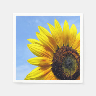 Serviettes Jetables tournesol