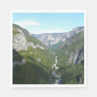 Serviettes Jetables Vallée de Yosemite en parc national de Yosemite