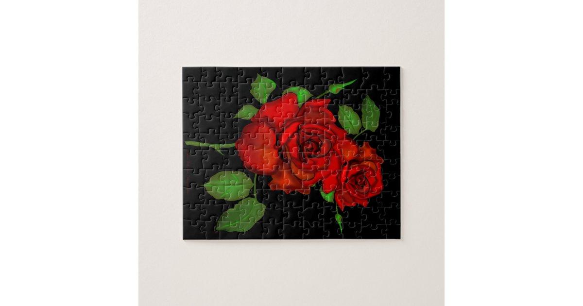 s 39 est lev le puzzle rouge zazzle. Black Bedroom Furniture Sets. Home Design Ideas