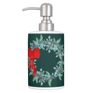Set De Salle De Bain La clématite florale de fougères de guirlande