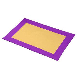 Set de table de violette et de souci