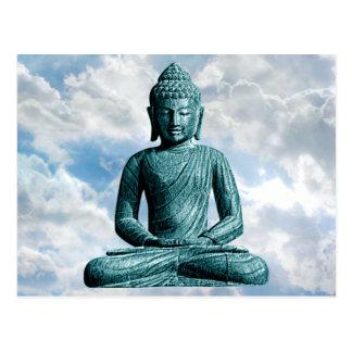 Seul de Bouddha carte postale horizontale -