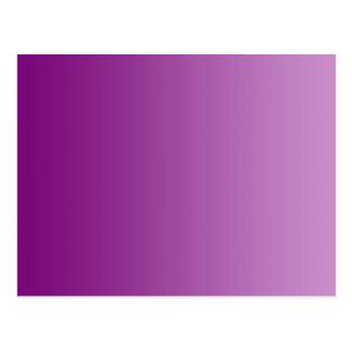 SEULEMENT gradients de COULEUR - magenta Carte Postale