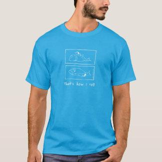 Shaaark- comment je roule le T-shirt foncé