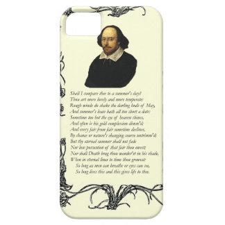 Shakespeare je comparerai le thee à un jour d'été coque Case-Mate iPhone 5