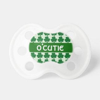 Shamrock de vert de bébé d'O'Cutie d'Irlandais Tétine