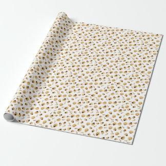 Shell modèlent papier cadeau