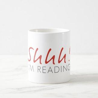 Shhh! Ik lees de Mok van de Koffie
