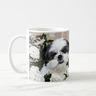 Shih Tzu et roses Mug