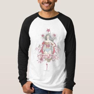 Shooting Stars de femme de merveille T-shirt