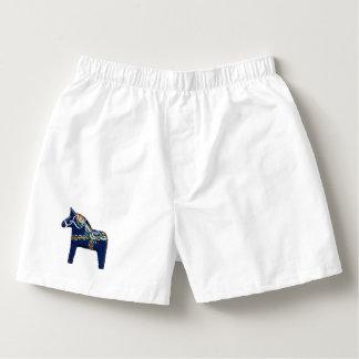 Shorts de boxeur de cheval de Dala