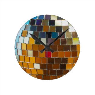 Si chaud vous êtes frais - boule de disco horloge ronde
