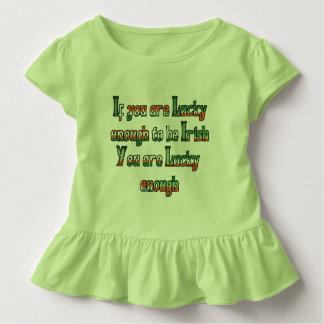 Si vous êtes assez chance d'être irlandais t-shirt pour les tous petits