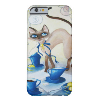 Siamese - fijn art. barely there iPhone 6 hoesje