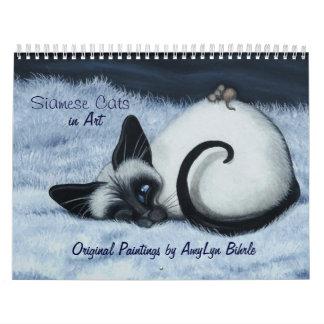 Siamese Kalender van de Kat door BihRle