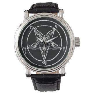 Sigil de montre vintage de Baphomet