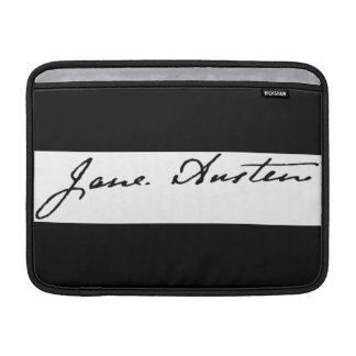 Signature de Jane Austen Poche Macbook Air