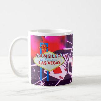 Signe de Las Vegas avec les matrices et la Mug