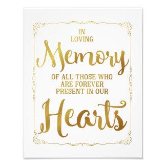 signe de mariage, mariage affectueux de mémoire, photographies