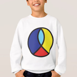 Signe de paix chrétien sweatshirt