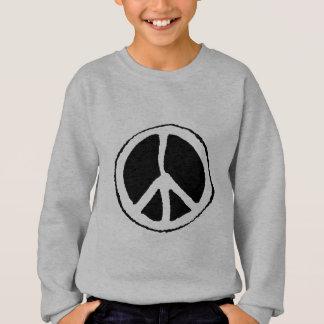 Signe de paix sweatshirt