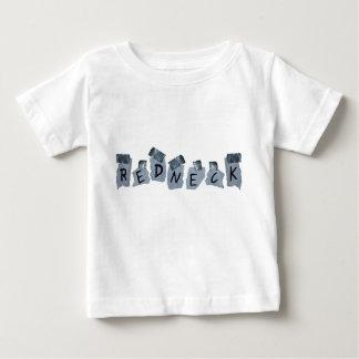 Signe de plouc de ruban adhésif t-shirt pour bébé