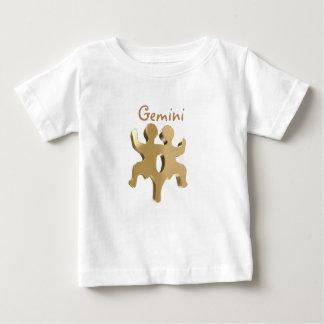 Signe d'or de Gémeaux T-shirt Pour Bébé